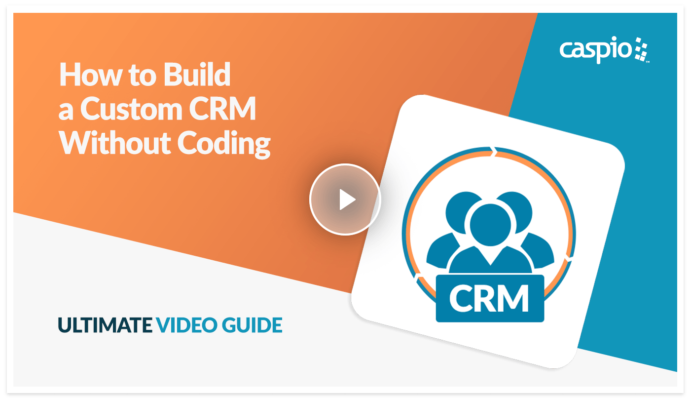 Ultimate video guide preview on how to build a custom crm in Caspio