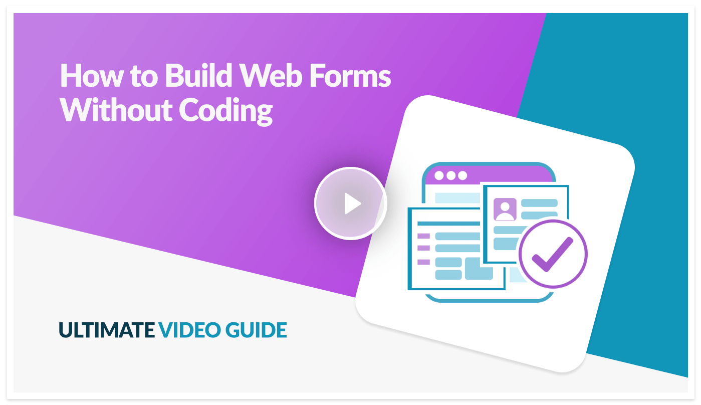 Ultimate video guide preview on how to create online web forms in Caspio